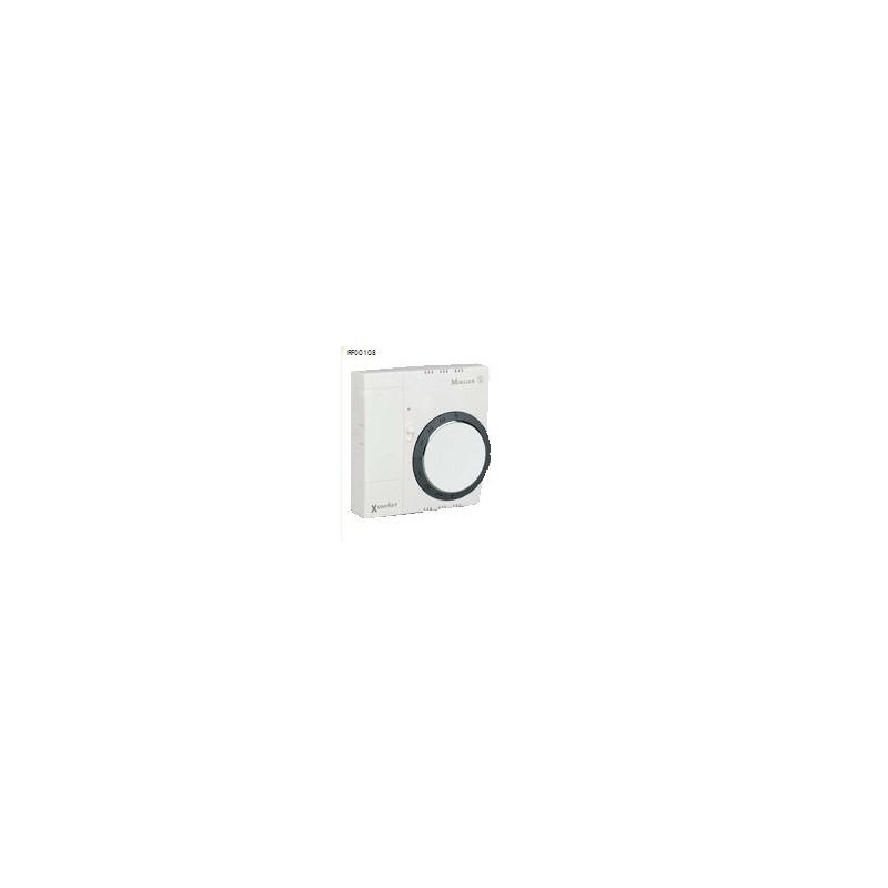 XCOMFORT Kamerthermostaat met afwezigheids- en vochtigheidssenso