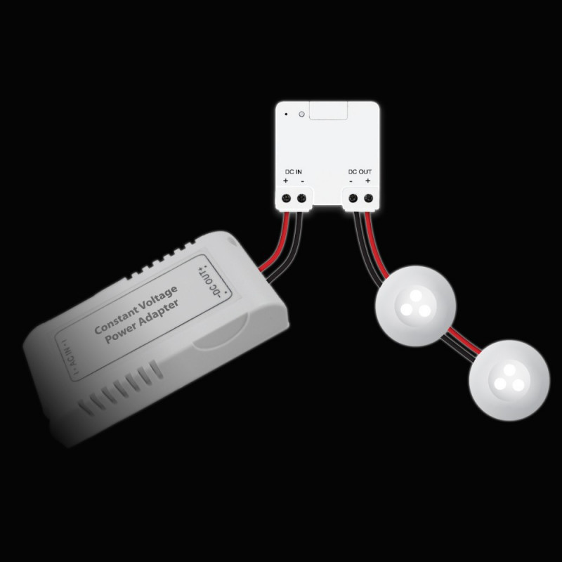 ACM-LV24 Mini 12-24 V LED dimmer