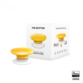 FIBARO - The Button - geel