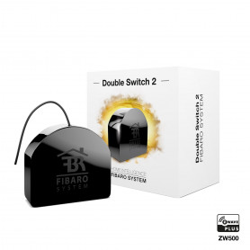 FIBARO - Relay Switch - 2 x 1.5KW