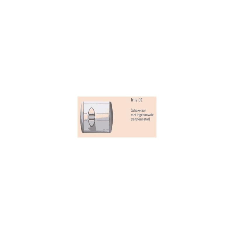 Schakelaar met voeding Concept28 buismotor Somfy