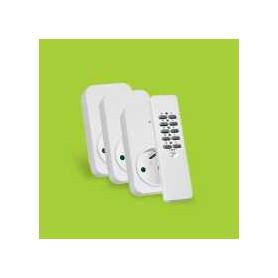 Set 3x ontvanger + afstandsbediening ACD3-1000R BE/FR
