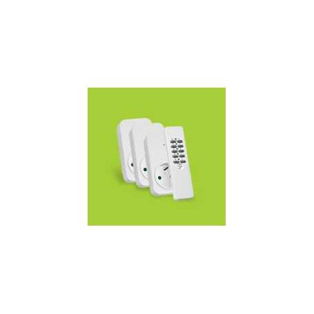 Set 3x ontvanger + afstandsbediening ACD3-1000R voor België