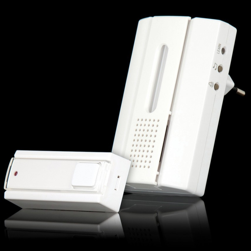 KlikAanKlikUit, Draadloze deurbel met draadloze drukknopzender,ACDB-7000AC