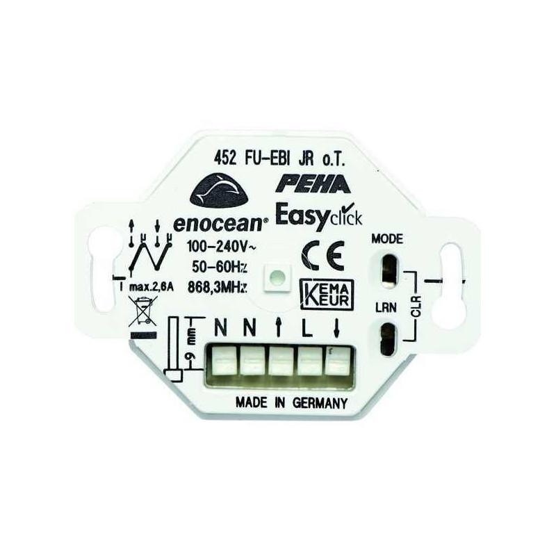 Easyclick, Inbouw ontvanger Plus 2 kanaal voor rolluiken