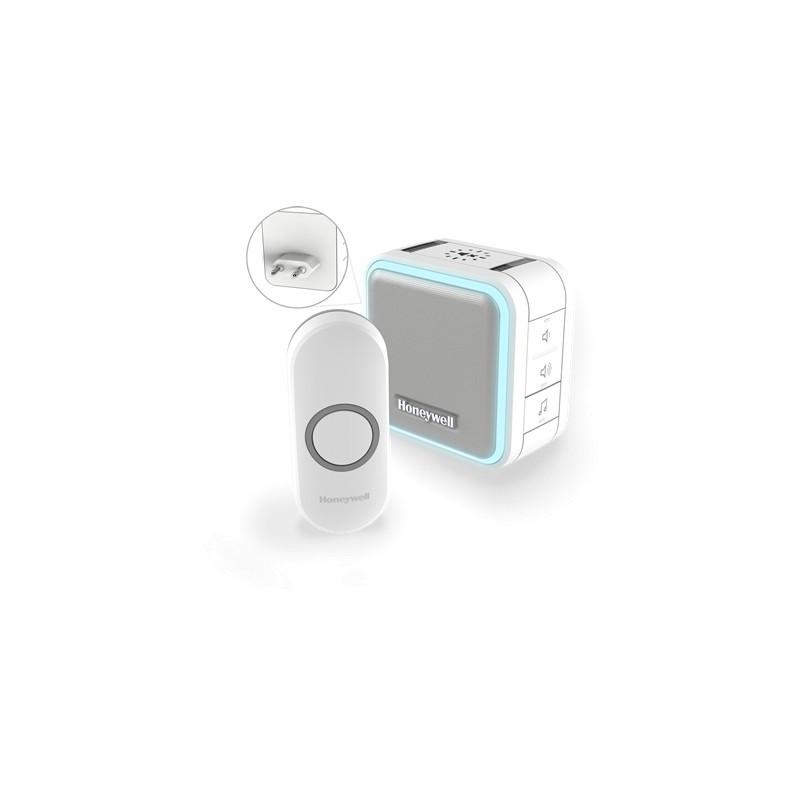 Honeywell Draadloze plug-in deurbel set - Wit