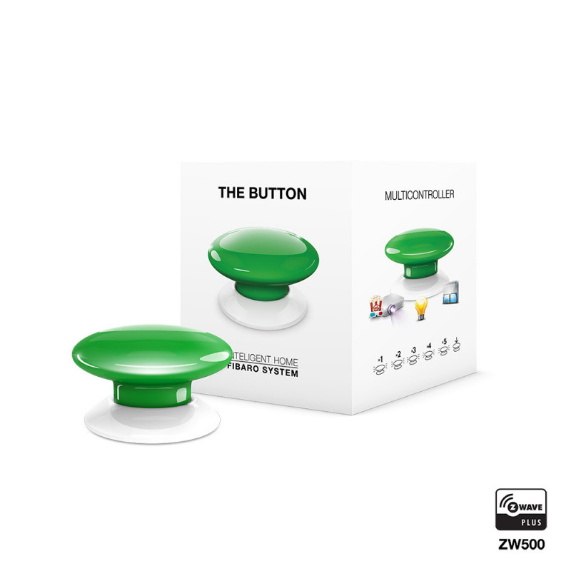 FIBARO - The Button - groen