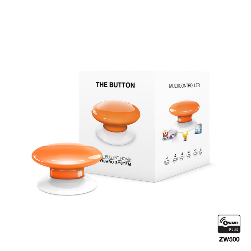 FIBARO - The Button - oranje