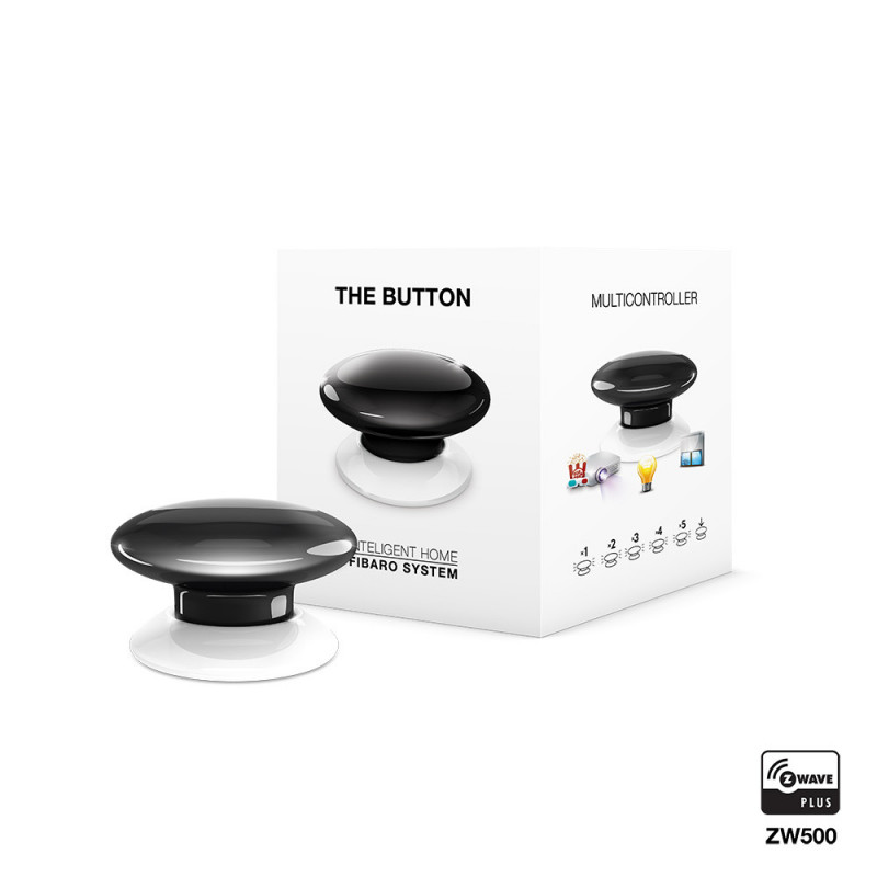 Fibaro - The Button - zwart