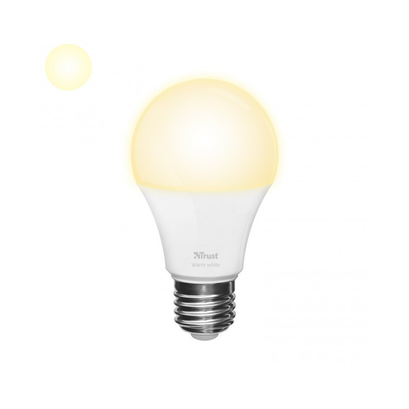 ZLED-2709 Dimbare E27 LED Lamp - Warm Wit