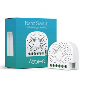 Nano Switch met energiemeting - AEOTEC - Zwave