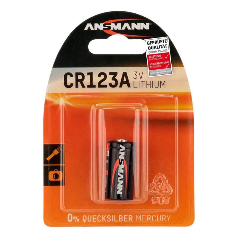 Ansmann CR123A Lithium accu