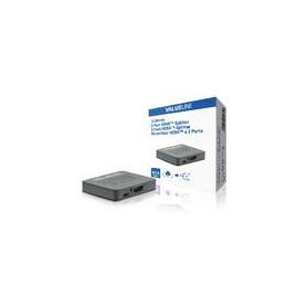 2-Poorts HDMI-Splitter Zwart
