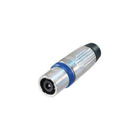 Cable connector, Speakon STX Zilver 4P