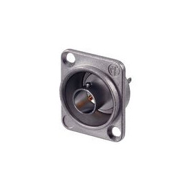 BNC appliance socket with flange 75 Ohm