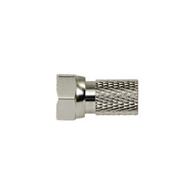 F-Connector 2.5 mm Male Metaal Zilver/Zilver