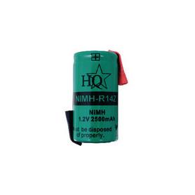 Oplaadbare NiMH Batterij Pack 1.2 V 2500 mAh 1-Pack