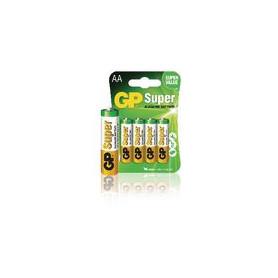 Alkaline Batterij AA 1.5 V Super 4-Blister