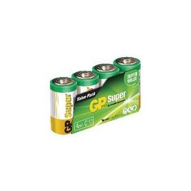 Alkaline Batterij C 1.5 V Super 4-Pack