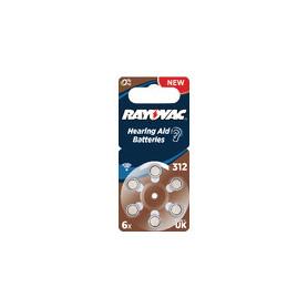 Zinc-Air Batterij PR41 1.4 V 6-Blister