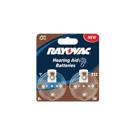 Zinc-Air Batterij PR41 1.4 V 8-Blister