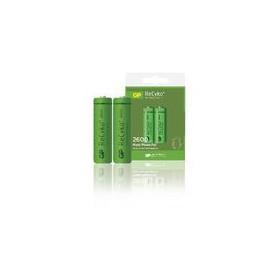 Oplaadbare NiMH Batterij AA 1.2 V 2600 mAh 2-Blister