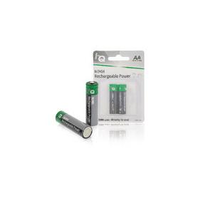 Oplaadbare NiMH Batterij AA 1.2 V 1300 mAh 2-Blister