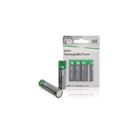Oplaadbare NiMH Batterij AA 1.2 V 1300 mAh 4-Blister
