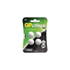 Lithium Knoopcel Batterij CR2032 3 V-Blisterkaart