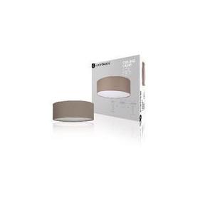 LED Plafond Lamp Bruin