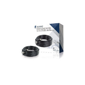 CCTV Kabel BNC / DC 10.0 m