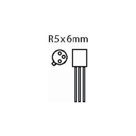 Transistor SI-N 40 VDC 0.8 A 0.5W 300MHz