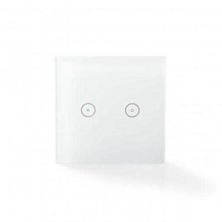 Wi-Fi Wandschakelaar Tweevoudig