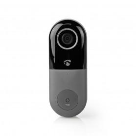 -Fi Smart Videodeurbel. Bediening via App. microSD-Sleuf. HD 720p