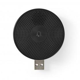 Draadloze Deurbelontvanger. Accessoire voor WIFICDP10GY (USB)
