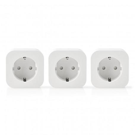 Wi-Fi smart plug - 2500 Watt - 3 -pack