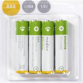 Alkaline batterij AAA | 1,5 V | 4 stuks