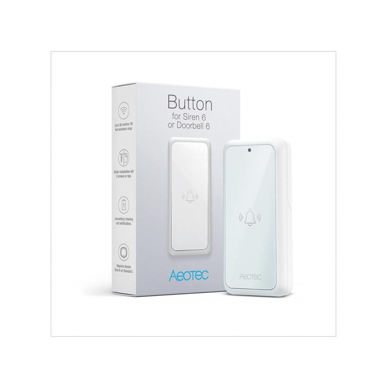 Deurbel knop voor Doorbell & Sirene 6 - AEOTEC - Zwave