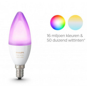 Philips HUE wit en kleur lamp E14