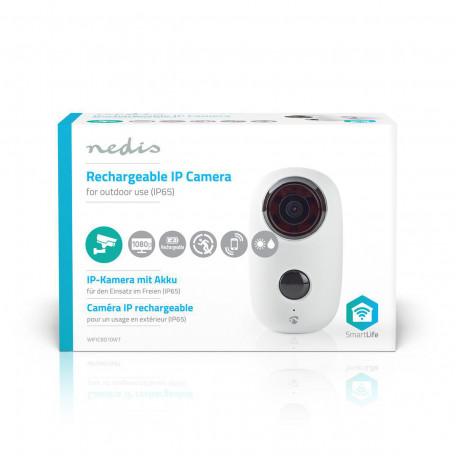 Nedis rechargeable IP camera
