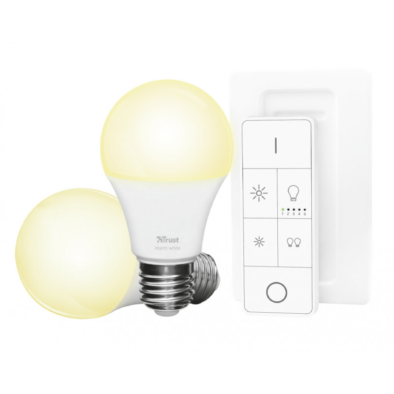 ZLED-2709R Starter Set 2 LED Bulbs + Remote Control