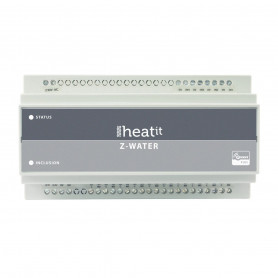 HeatIT, Z-water, DIN rail module, z-wave