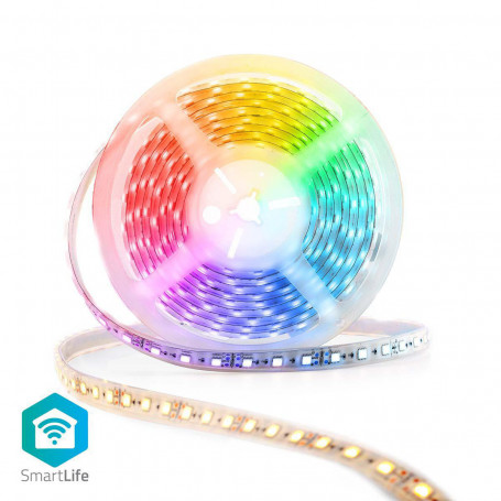 Wi-Fi Smart LED-strip | Full-Colour en Warm- tot koud wit | 5 m