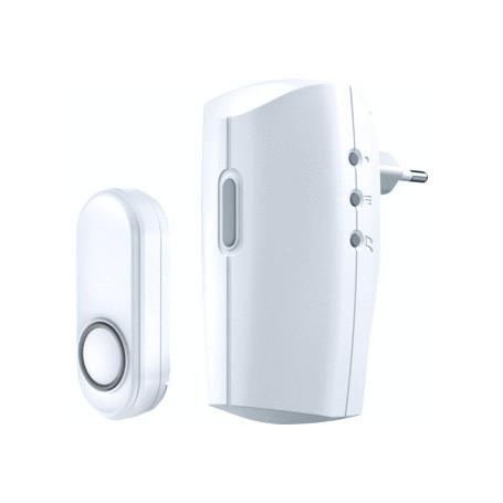 Draadloze deurbel met draadloze drukknopzender,ACDB-8000AC