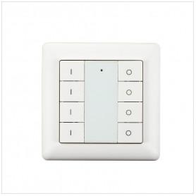 Wandschakelaar Z-Push Button 8 - Heatit- Zwave