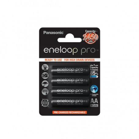 Eneloop AA Pro - 2450mAh 4 pack